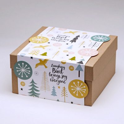 Laughing Bird Christmas Box