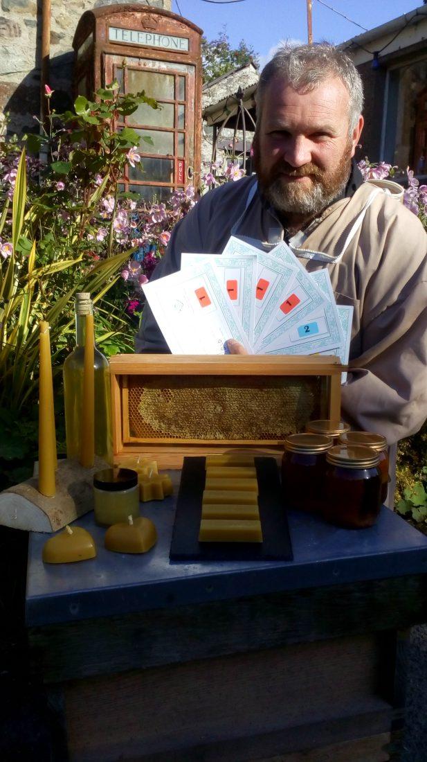Award-winning honey