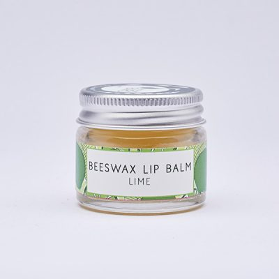 Lime beeswax lip balm by Laughing Bird