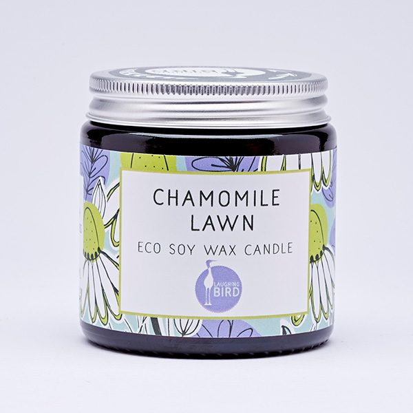 Chamomile Lawn eco soy wax candles by Laughing Bird