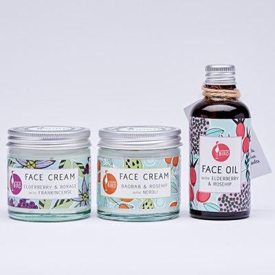 Face oil & cream