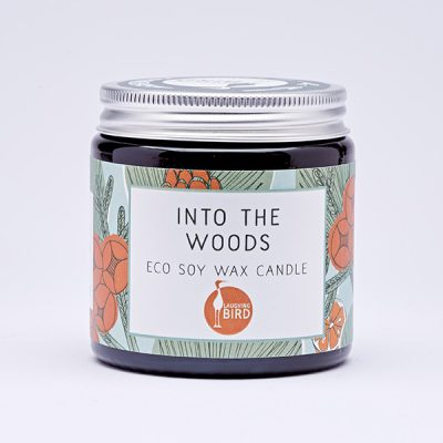 Into the Woods eco soy wax candles by Laughing Bird