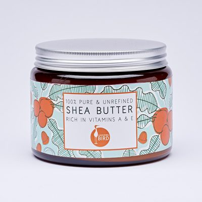 Large unrefined shea butter by Laughing Bird