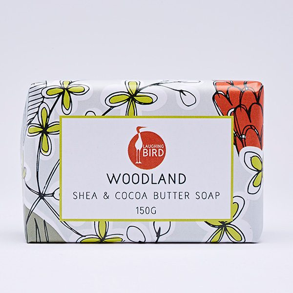Woodland shea butter and cocoa butter soap by Laughing Bird