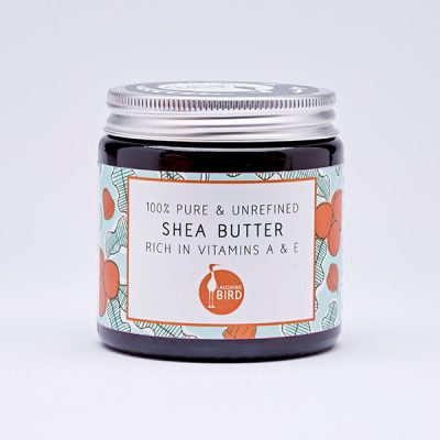 Small unrefined shea butter by Laughing Bird