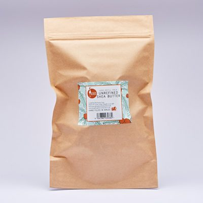 Unrefined shea butter refill pack by Laughing Bird